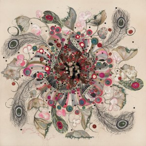 Textile Artist Louise Gardiner, Blooming Marvellous, Free Machine Embroidery, Painting and Applique