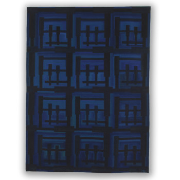 Marie Thumette-Brichard, Vieux Pontons 5, Tapestry Weaving