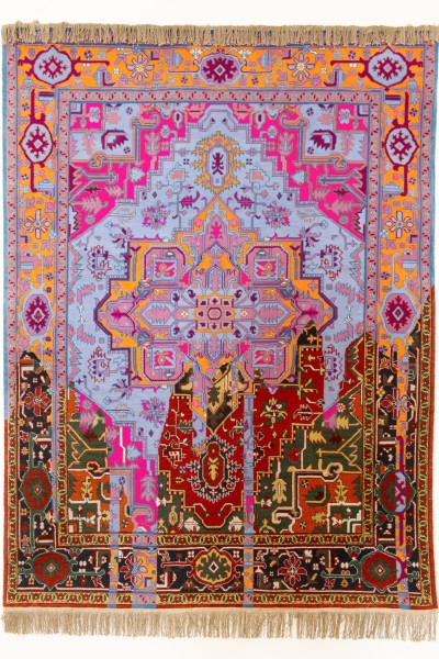 Faig Ahmed, Invert carpet