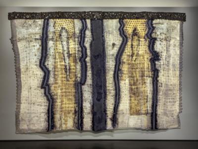 Breakup, Keren Lowell texile art