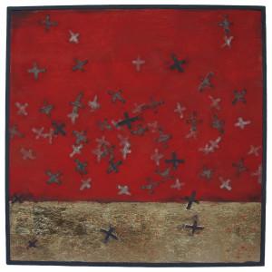 Surge, Keren Lowell textiles