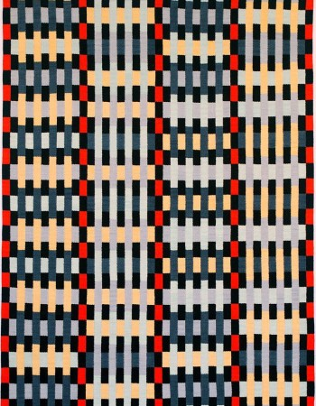 Brita Been, tapestry, SENSE OF ORDER 2011  230 x 310 cm