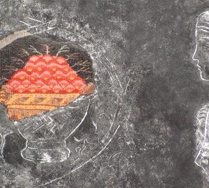 Diana Wood Conroy Tapestry Sarejevo fragility detail