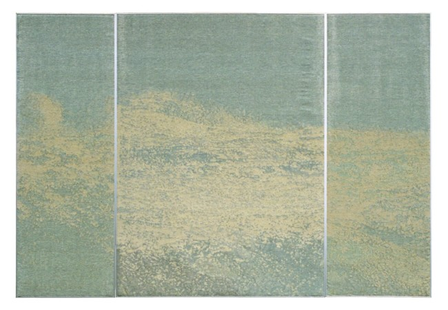 Iboyla Hegyi, tapestry, Aquamarine