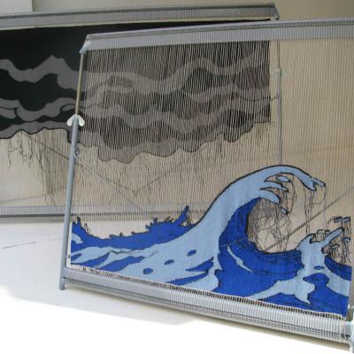 Tonje Hoydahl Sorli, tapestry, A time beyond Time