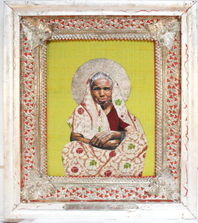 Indira Lakshmi Mishra-Mother in Law (Icons of the Ordinary)-2007-Embroidery