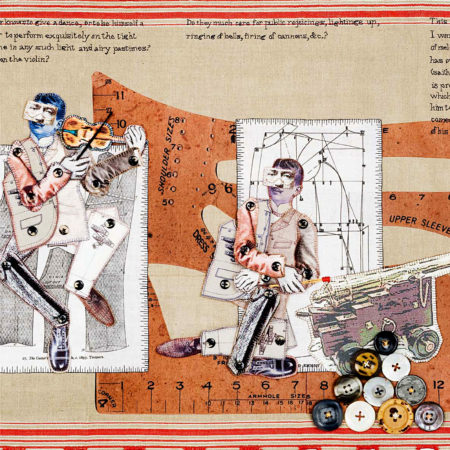 On The Melancholy of Tailors-2009-Embroidery