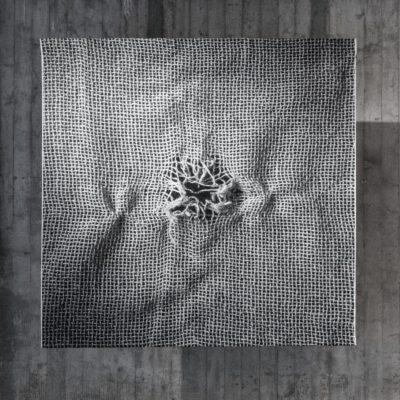 Kristina Aas, Broken_2013_152x156cm_digital_jacquard_weave_wool