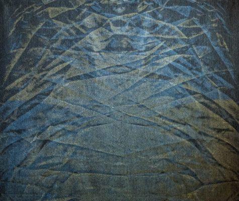 Kristina Aas, Liquid_light_I_2014_158x131cm_digital_jacquard_weave_wool