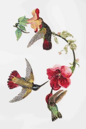 Louise Saxton textiles Sky Jewels2016afterjohnjamesaudubon1833_lr
