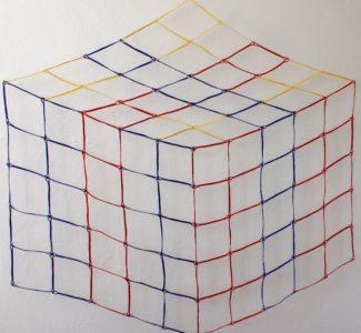 1 paper thread Cube IV Luis Acosta
