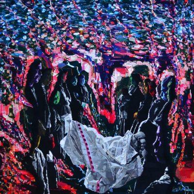 Sarah Peret, Tapestry, LE COLOSSE TRANSI