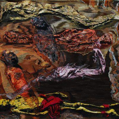 Sarah Peret, Tapestry, LUTTER POUR L'ETERNITE