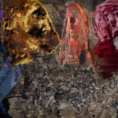 Sarah Peret, Tapestry,AU PAYS DES BRUMES