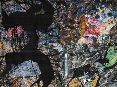 Sarah Peret, Tapestry,FOSSILE DU NOIR AURORE
