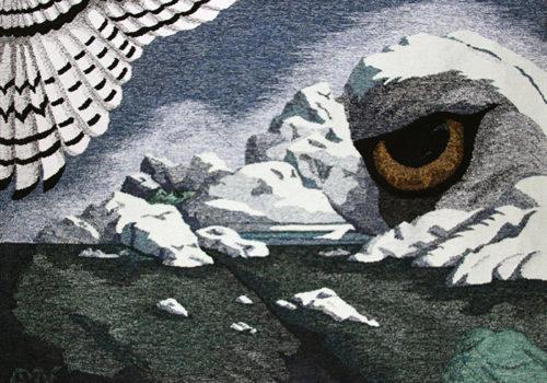 Textiles Anne-Marie Nygaard Eilertsen tapestry