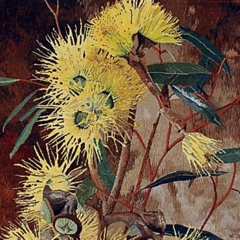 Natalie Fisher Eucalyptus textile curator