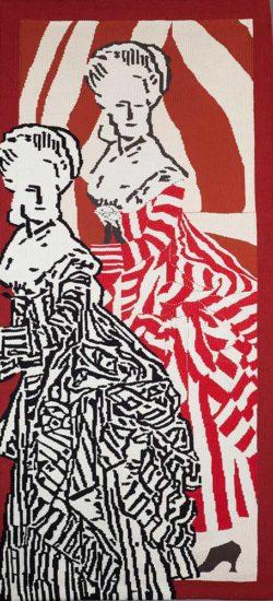 Barbara Burns, tapestry, Revolution.web