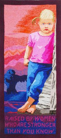 Barbara Burns, tapestry, Sophie